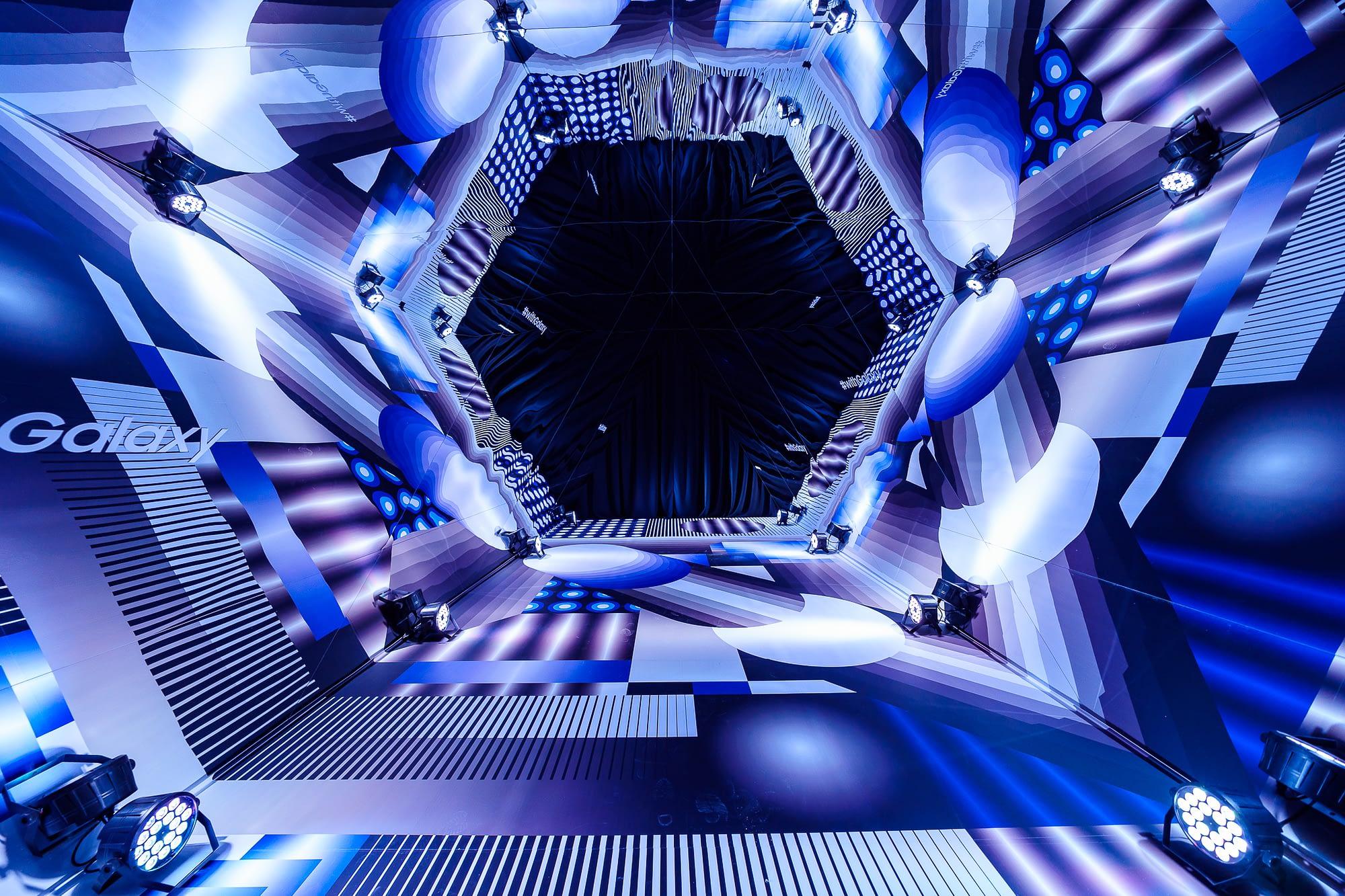 kaleidoscope lost optics samsung one night gallery